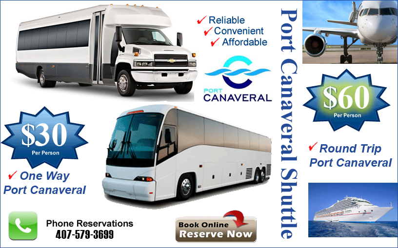 Nice Port Canaveral Shuttle